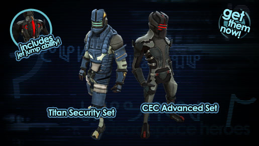 Dead Space Heroes sets!
